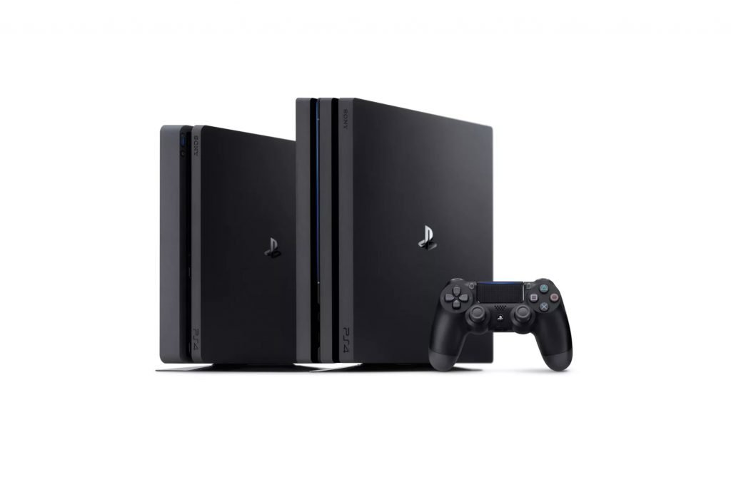 ps4 next to ps4 pro