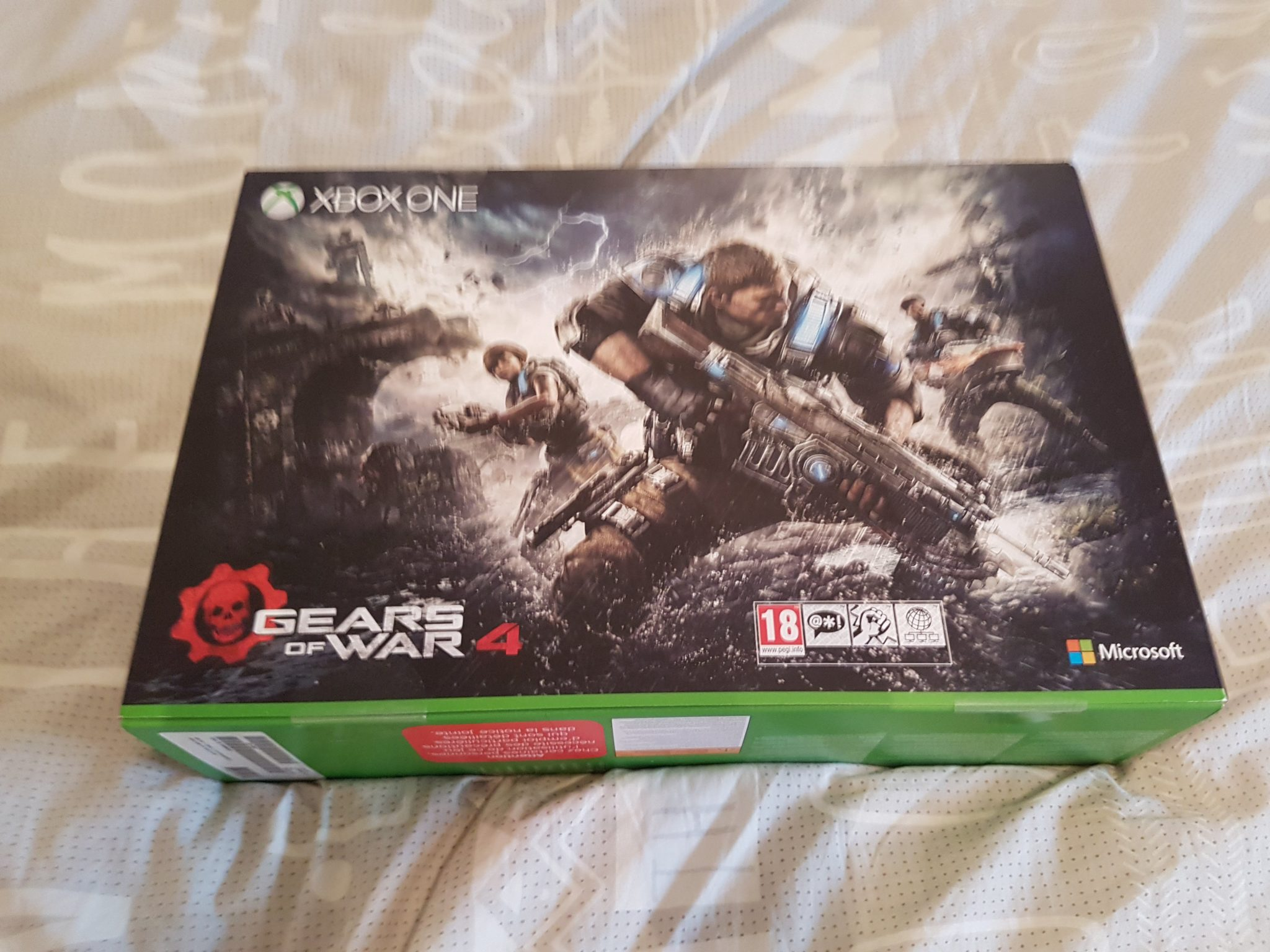 Gears of war 4 xbox one s box