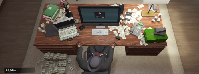 GTA Online Import Export Office Money Desk