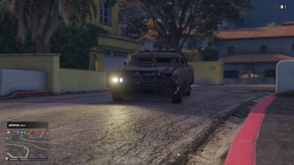 Grand Theft Auto Online Duke o Death