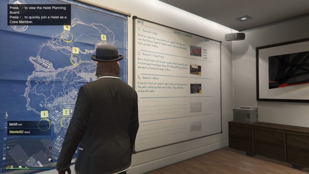 Grand Theft Auto Online Heist Room