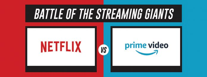Battle of the Streaming Giants- Netflix vs. Amazon Prime [Infographic]
