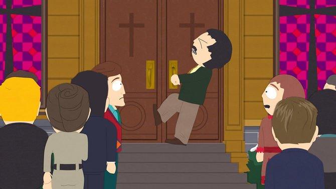 Randy Opens Door South Park