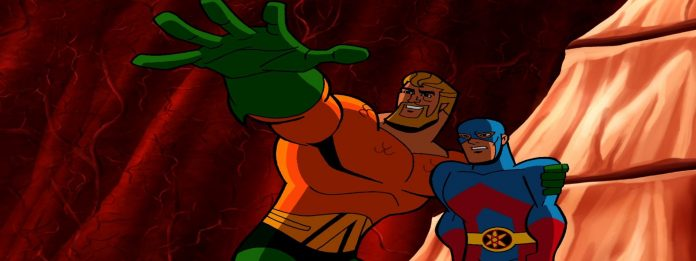 Aquaman Brave and the bold