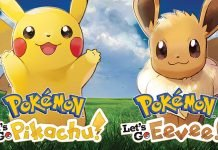 Pokemon Pikachu and Eevee