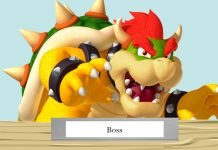 Bowser at a desk