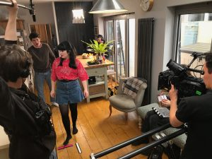 Behind the scenes of Serial Cheat directed by Anthony Sutcliffe
