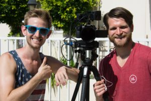 Noah Baron and Ross Willet of AnotherProductionProductions