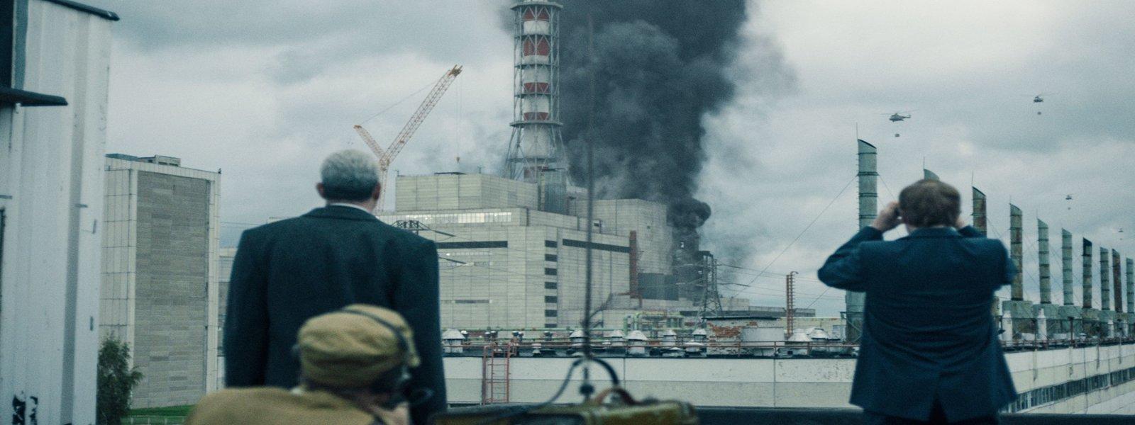 Chernobyl on Sky odd accents
