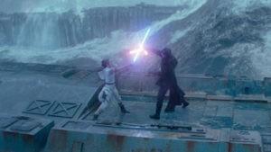 Best Lightsaber Battles: Kylo Ren v Rey, The Rise Of Skywalker