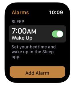 Sleep Watchos7