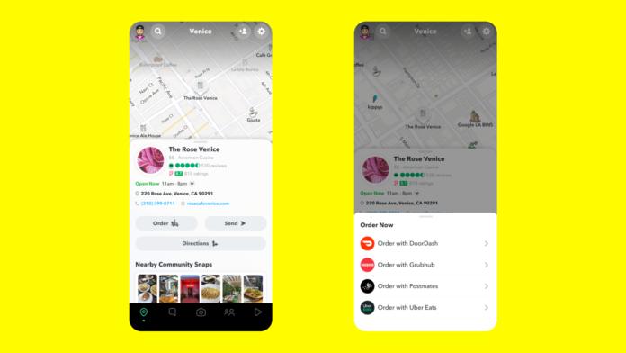 Snapchat Maps