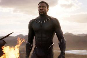 Upcoming MCU superhero movie character Black Panther