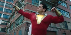 Upcoming DC superhero movie character Shazam