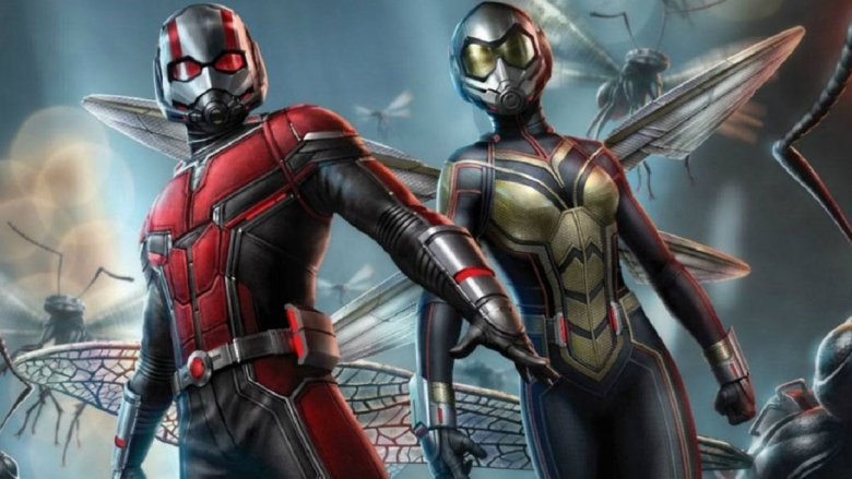 Ant-man and the Wasp in superhero mode