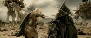 Best Lord of the Rings Fights: Eowyn vs Witch-King