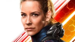 Evangeline Lilly as the Wasp