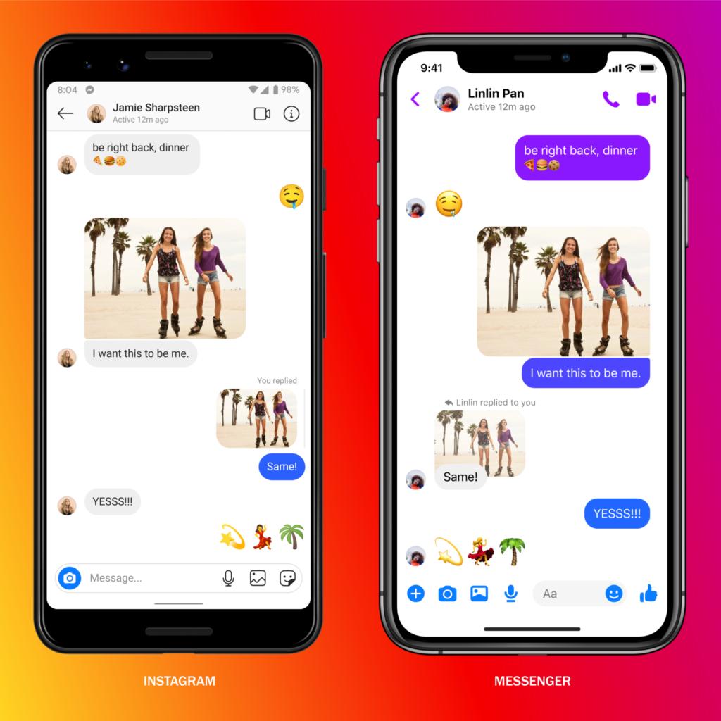 Facebook Messenger cross-platform