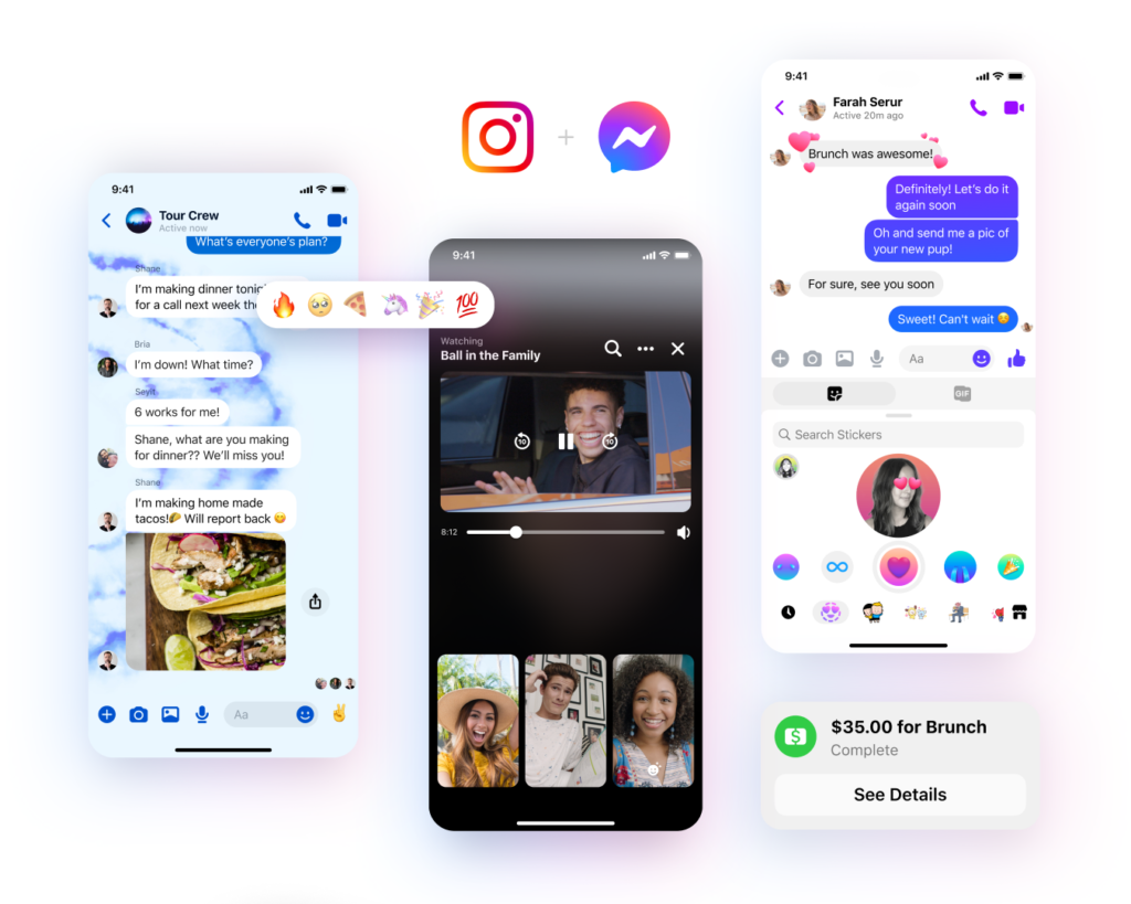 Messenger new features