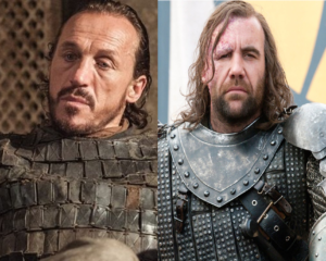 Bronn and The Hound