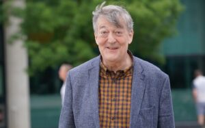 Stephen Fry, narrator of many audiobooks