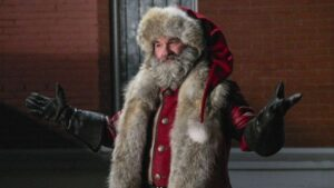 Kurt Russell as Santa in The Christmas Chronicles