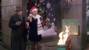 Phoebe spreading Christmas joy