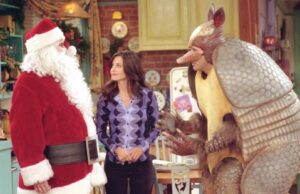 Classic Christmas symbol, the holiday armadillo