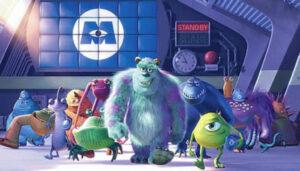 Pixar Monsters Inc