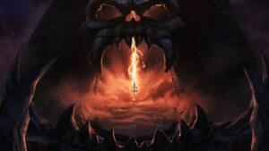 Castle Grayskull in Masters Of The Universe Revelation