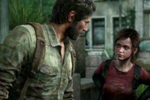 Joel and Ellie in The Last Of Us game