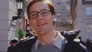 Peter Parker freeze frame raindrops montage