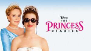 Anne Hathaway and Julie Andrews, stars of The Princess Diaries.