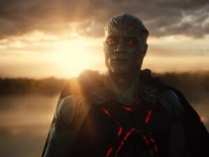 The Martian Manhunter made a surprise appearance in Zack Snyder's Justice League