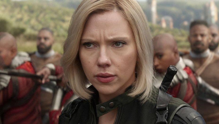 Black Widow In Avengers: Infinity War