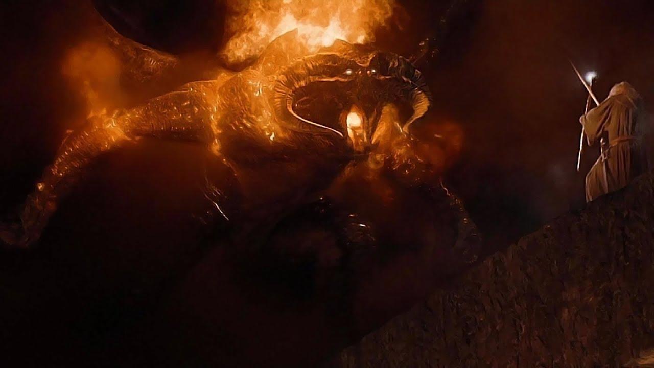 Gandalf v Balrog in glorious 4K