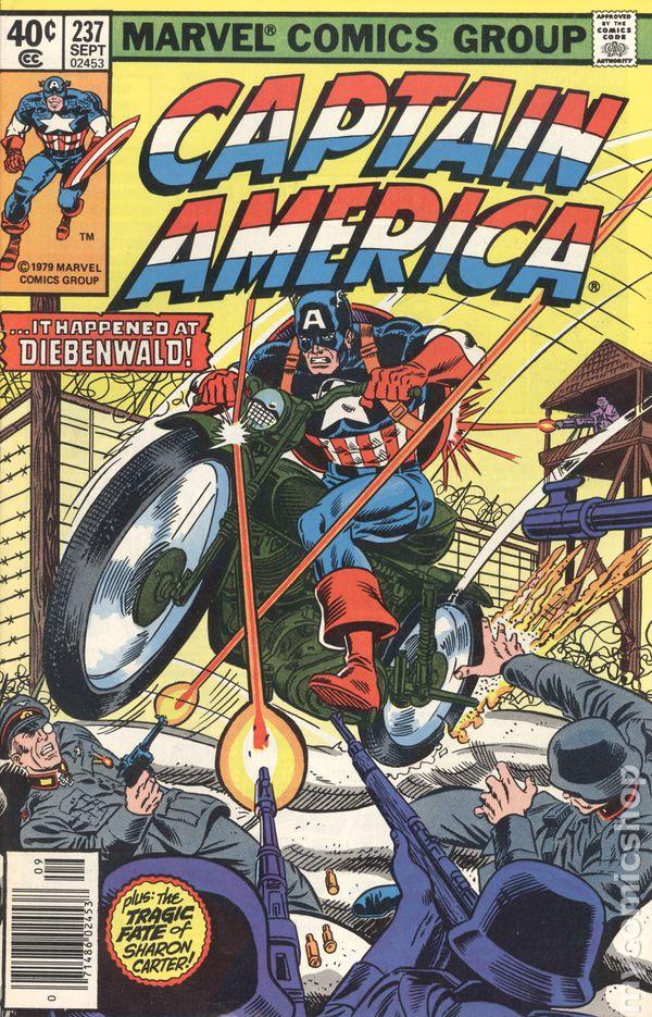 Captain America comicbook cover