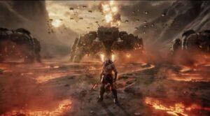 Darkseid prepares for battle.