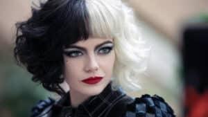 Emma Stone as Cruella.
