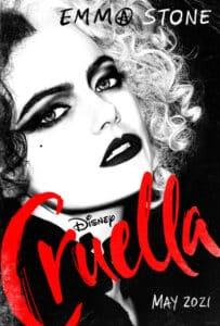 Cruella poster.