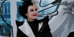 Glenn Close as Cruella in the old live-action remakes.