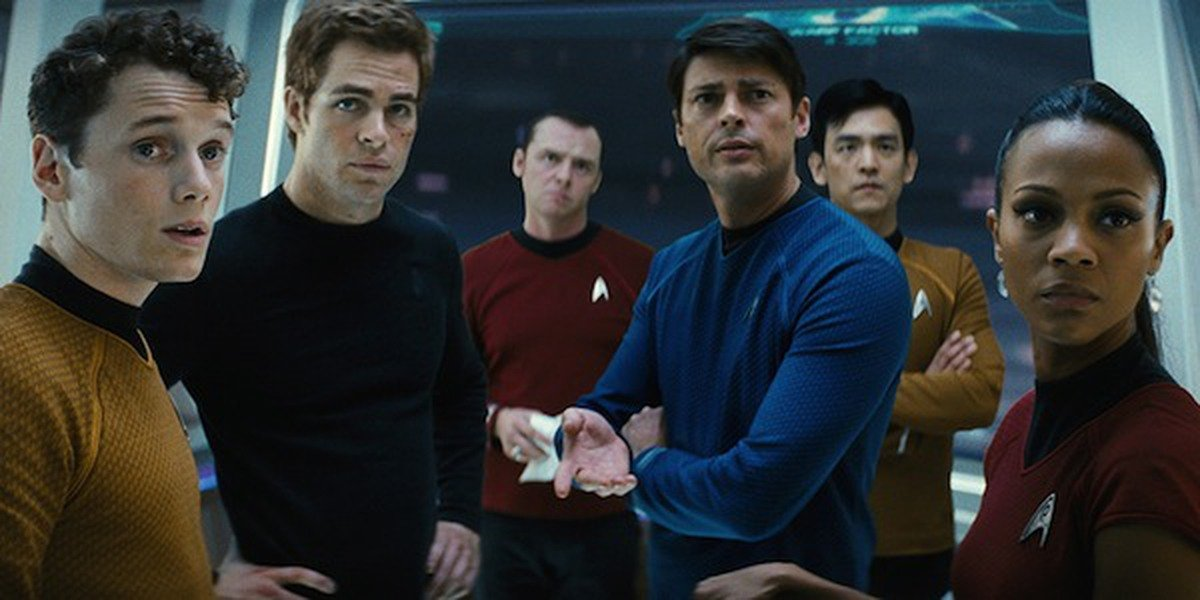 The cast of Star Trek Beyond