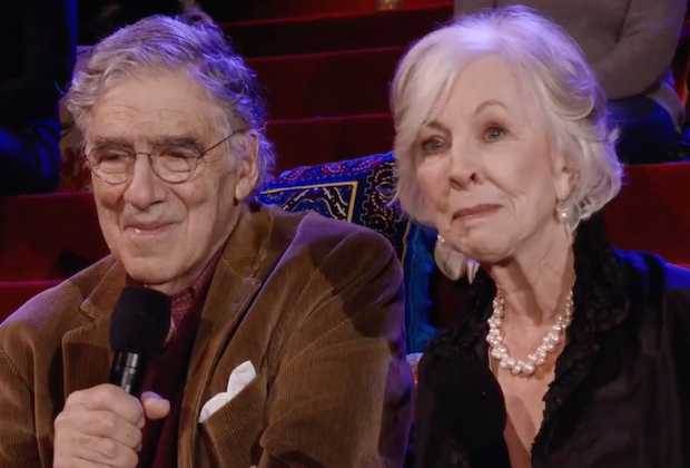 Elliott Gould (Jack) and Christina Pickles (Judy) on Friends: The Reunion