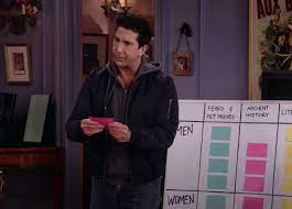 David Schwimmer, as Ross, is quiz host again on Friends: The Reunion