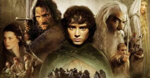 The Fellowship of the Ring poster.