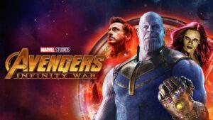 Marvel's Avengers: Infinity War poster.
