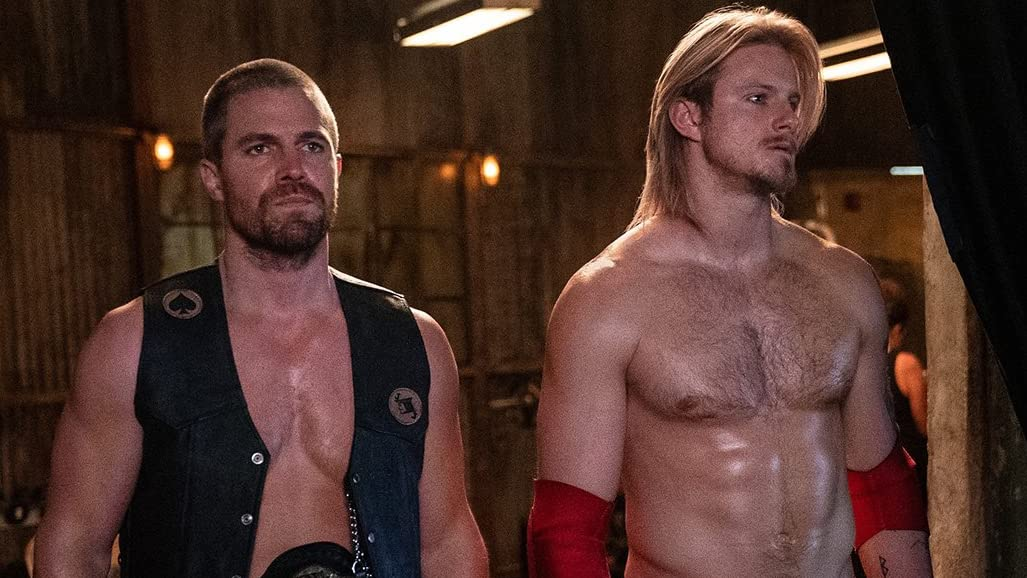 Jack Spade (Stephen Amell) and Ace Spade (Alexander Ludwig)