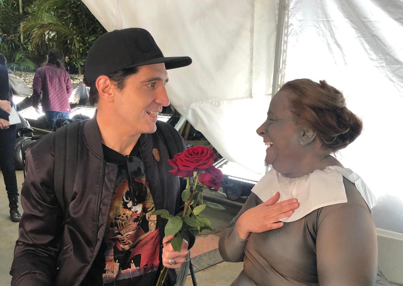David Dastmalchian and Lynne Ashe