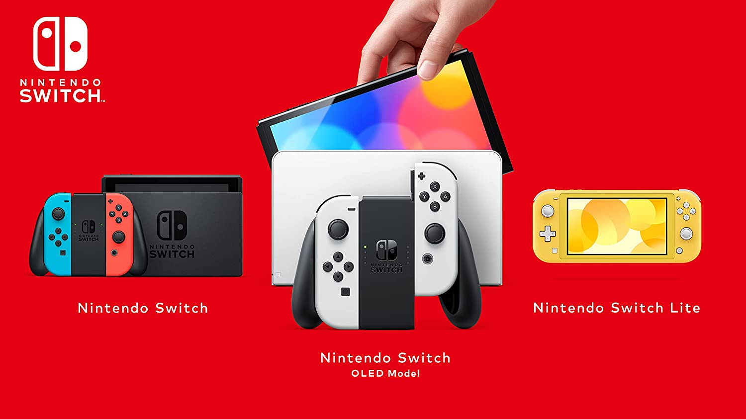 The three different Switches